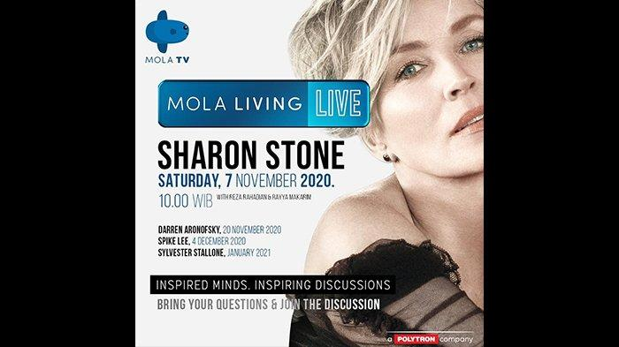 Reza Rahadian Akan Berbincang Bareng Sharon Stone, Aktris Peraih Golden Globe Awards di Mola TV