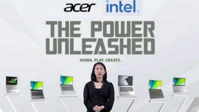 Rangkaian Laptop Tipis Menggunakan Prosesor Intel Core Generasi ke-11